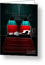 Untitled No.12 Greeting Card by Caio Caldas