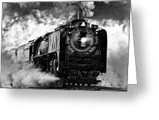Up 844 Steaming It Up Greeting Card by Bill Kesler