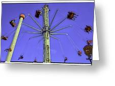 Up Up And Away 2013 - Coney Island - Brooklyn - New York Greeting Card by Madeline Ellis