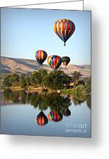 Up Up And Away Greeting Card by Carol Groenen