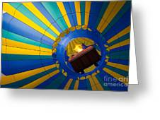 Up Up And Away Greeting Card by Inge Johnsson