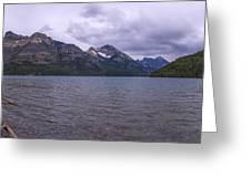 Upper Waterton Lake Greeting Card by Chad Dutson