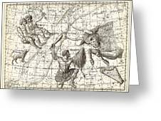 Uranographia Constellations, 1801 Greeting Card by Science Photo Library