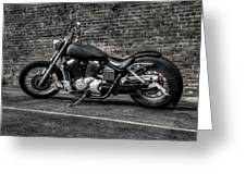 Urban Bike 001 Greeting Card by Lance Vaughn