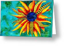 Urchin Greeting Card by Shannan Peters