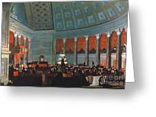U.s. Congress - House Greeting Card by Granger