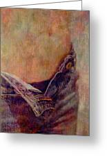 V Jeans Greeting Card by Loriental Photography
