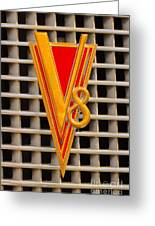 V8 Lasalle Greeting Card by Jerry Fornarotto
