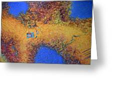 Vacationing On A Painting Greeting Card by James W Johnson