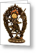 Vajrayogini Greeting Card by Fabrizio Troiani