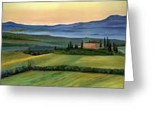 Val d Greeting Card by Cecilia  Brendel