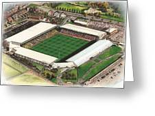 Vale Park - Port Vale Greeting Card by Kevin Fletcher