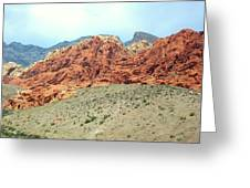 Valley Of Fire Greeting Card by Christopher Fridley