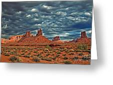 Valley Of The Gods Greeting Card by Robert Bales