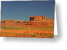 Valley Of The Gods - See What The Gods See Greeting Card by Christine Till