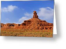Valley Of The Gods Utah Greeting Card by Christine Till
