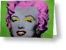 Vampire Marilyn Variant 2 Greeting Card by Filippo B