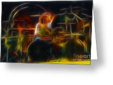 Van Halen-alex-93-gc5-fractal Greeting Card by Gary Gingrich Galleries