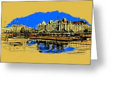 Vancouver Art 001 Greeting Card by Catf