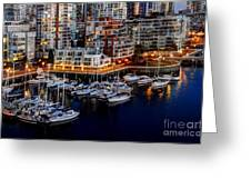 Vancouver British Columbia 10 Greeting Card by Bob Christopher