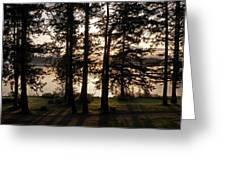 Vancouver Island Sunrise Greeting Card by Inge Riis McDonald