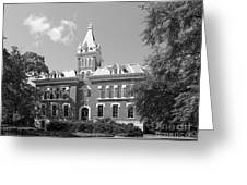 Vanderbilt University Benson Hall Greeting Card by University Icons