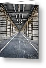 Vanishing Point Greeting Card by Delphimages Photo Creations