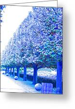 Vanishing Point Greeting Card by First Star Art