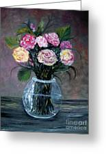 Variety  Roses Greeting Card by Rhonda Lee