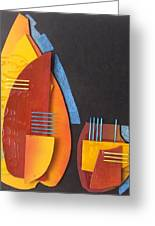 Vase Greeting Card by Marita Milkis