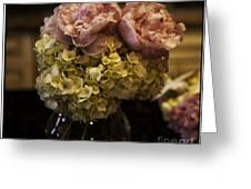 Vase Of Flowers Greeting Card by Madeline Ellis