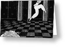 Vaslav Nijinsky In Scheherazade Greeting Card by Georges Barbier