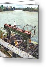 Vaucluse Valve Greeting Card by Frank Giordano
