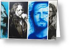 'Vedder Mosaic I' Greeting Card by Christian Chapman Art