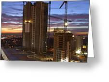 Vegas Expansion Greeting Card by Mike McGlothlen