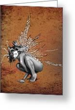 Venetian Fairy Greeting Card by Kd Neeley