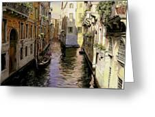 Venezia Chiara Greeting Card by Guido Borelli