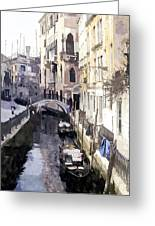 Venice 1 Greeting Card by Julie Woodhouse