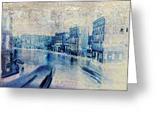 Venice Canal Grande Greeting Card by Frank Tschakert