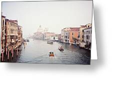 Venice Italy Greeting Card by Michele Aristy