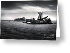 Venice Lagoon Greeting Card by Gregory Dyer