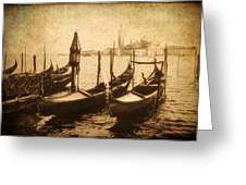 Venice Postcard Greeting Card by Jessica Jenney