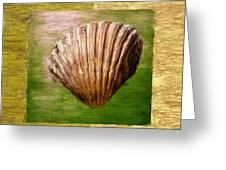 Verde Beach Greeting Card by Lourry Legarde