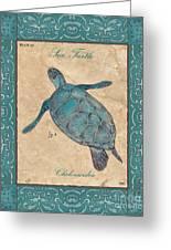 Verde Mare 4 Greeting Card by Debbie DeWitt