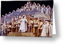 Verdi Aida Greeting Card by Shaun Higson