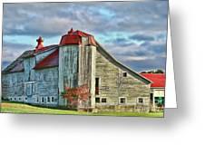Vermont Rustic Beauty Greeting Card by Deborah Benoit