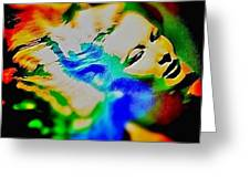 Veronica Lake Greeting Card by Louis Braquet - veronica-lake-louis-braquet