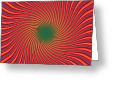 Vertigo Greeting Card by WB Johnston