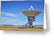 Very Large Array - Vla - Radio Telescopes Greeting Card by Christine Till