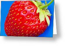 Very Strawberry  Greeting Card by Chris Berry
